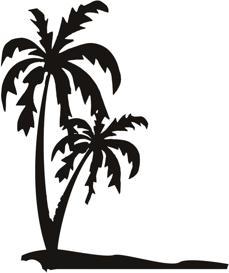 0 ideas about palm tree silhouette on clip art