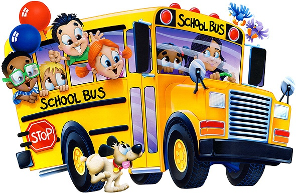 Back to school bus clipart 2