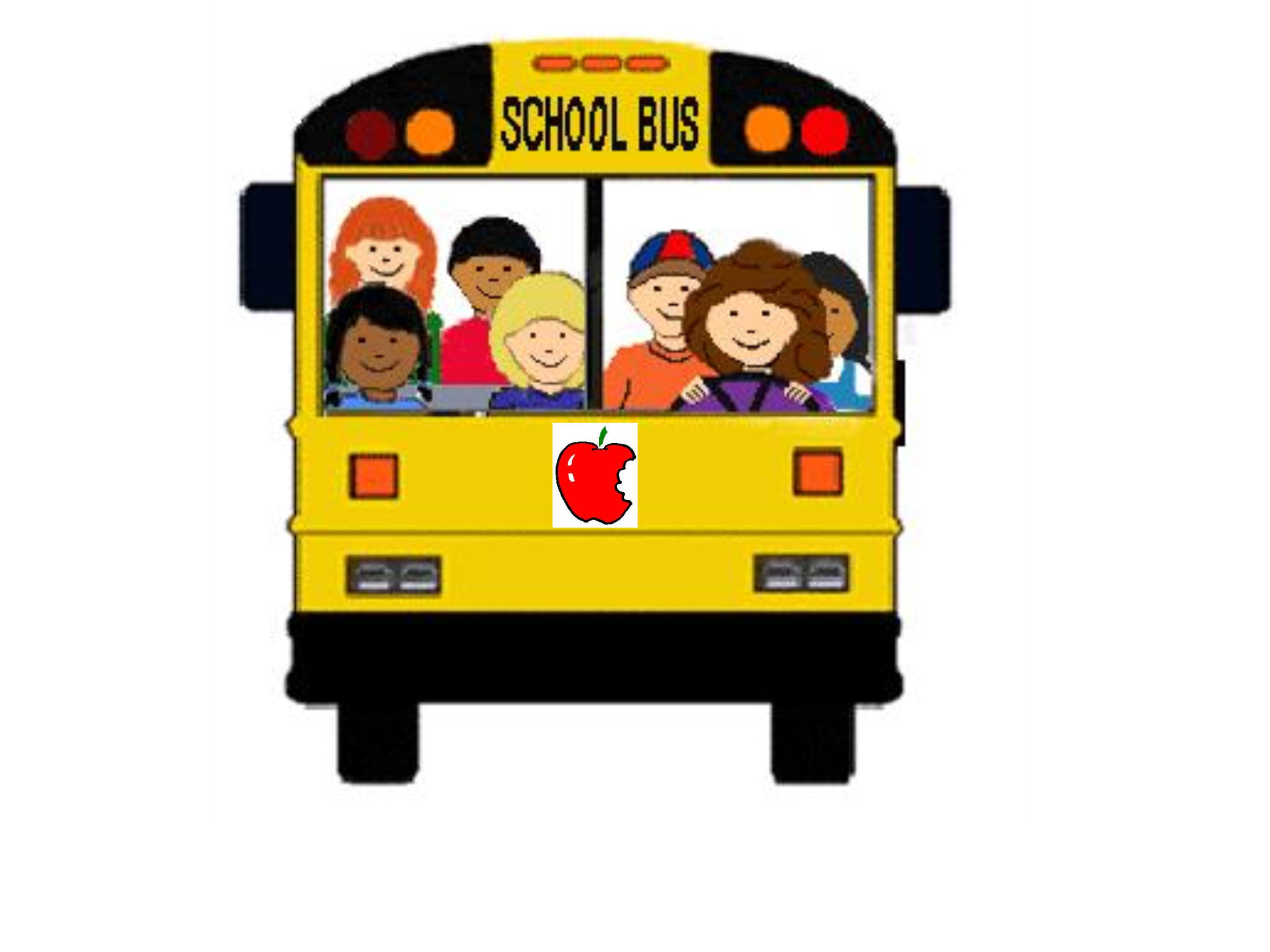 Back to school bus clipart clipartfest