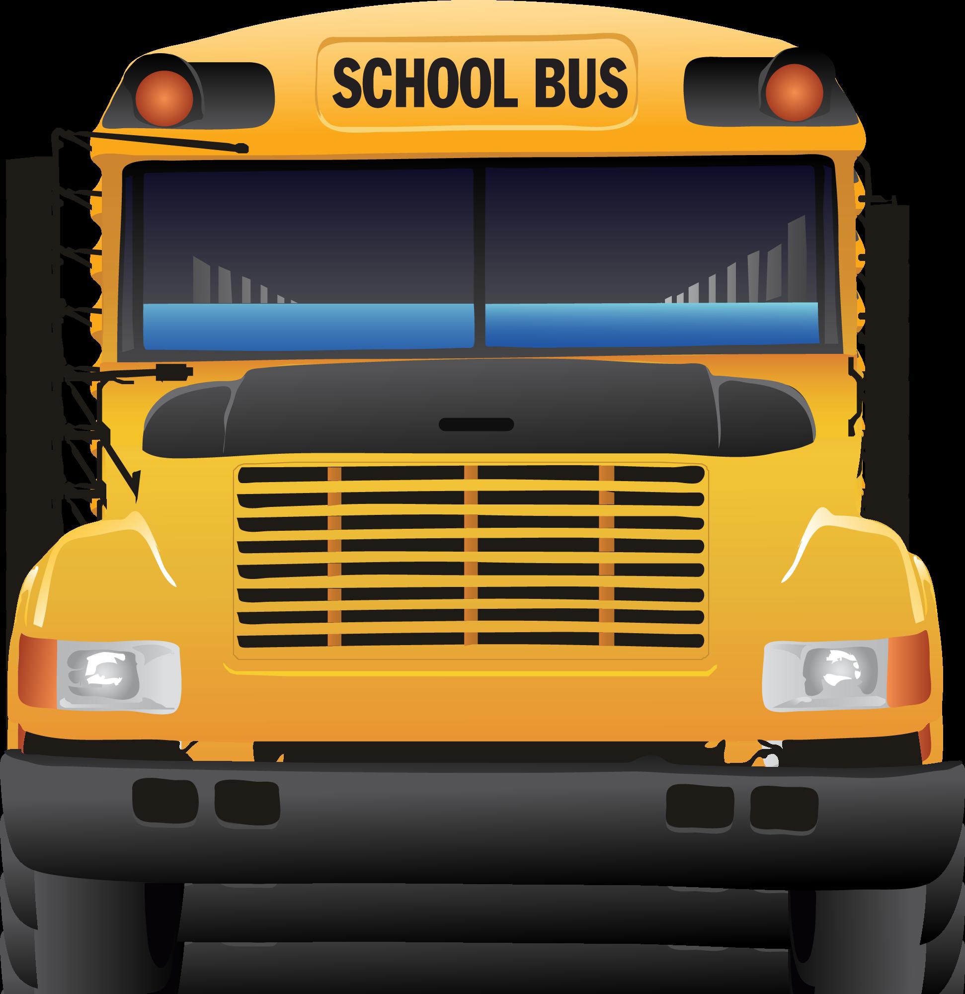 Back view of school bus clipart clipartfest