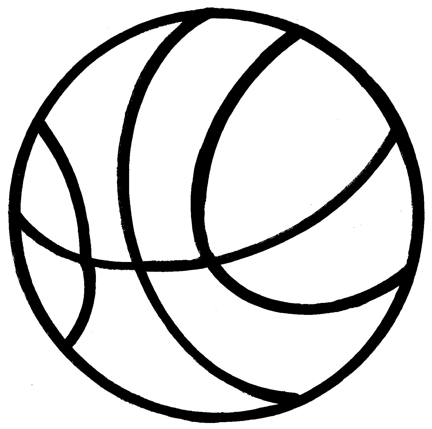 Basketball clip art black vergilis clipart 4