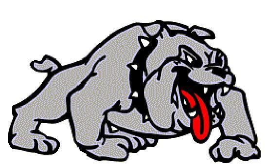 Bulldog football mascot clipart free images