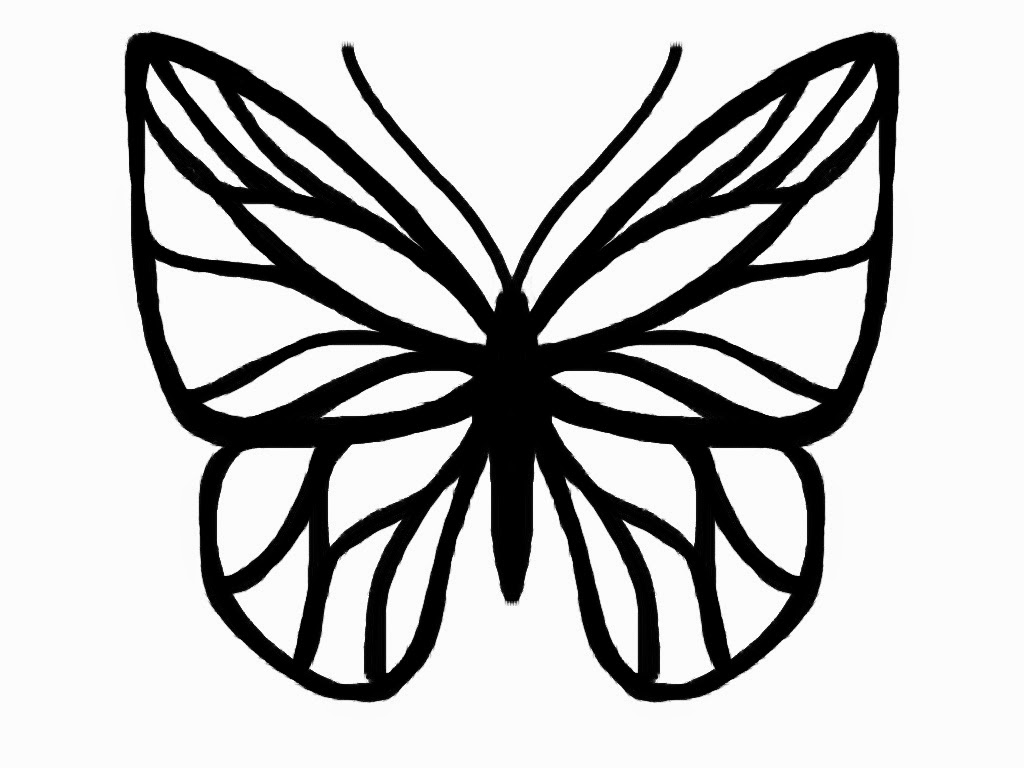Butterfly outline butterfly drawing template butterfly drawing silhouette cameo