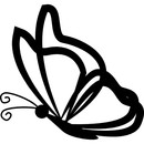 Butterfly outline vectors photos and psd files free download 3