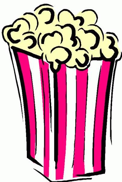 Carnival popcorn clip art clipart 2