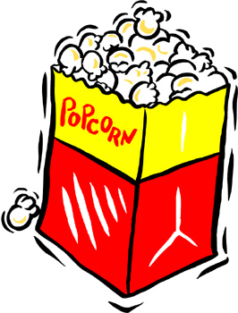 Cartoon popcorn clip art graphics clipart icon clipart 2