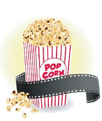 Cartoon popcorn clip art graphics clipart icon clipart 4