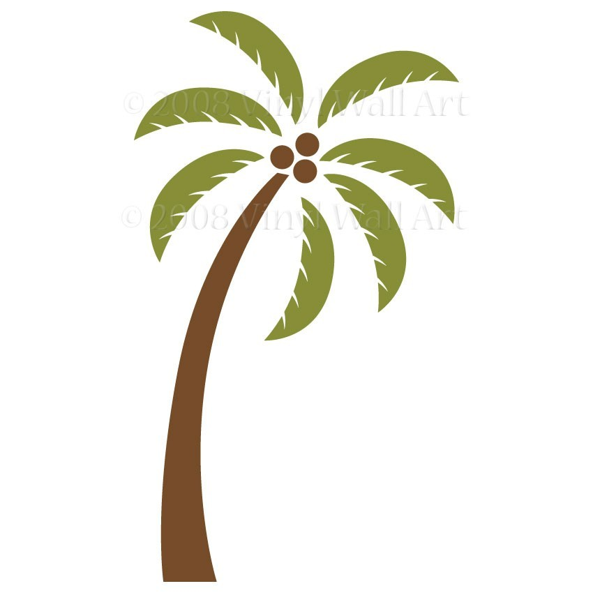 Clip art palm tree sign clipart 2