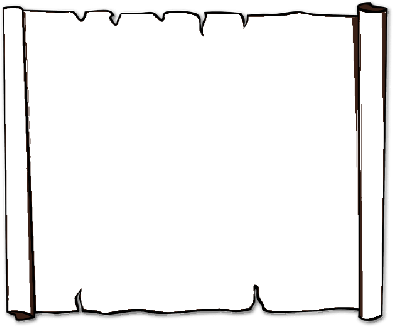 Clip art scroll 4