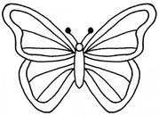 Clipart butterfly outline clipartfest 2
