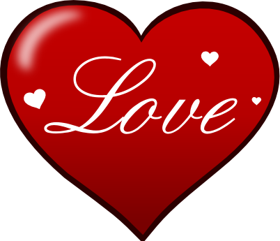 Clipart love heart free images 2