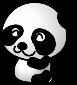 Cute panda bear clipart free images 2
