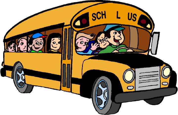 Free clip art school bus clipart images 6