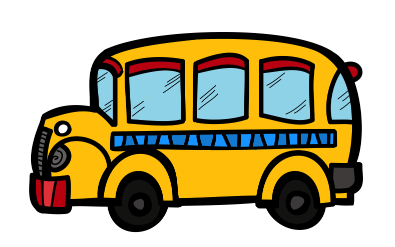 Free clipart for school bus