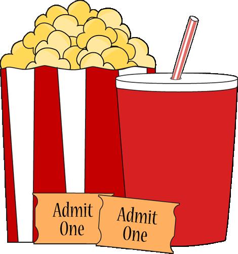 Free popcorn clip art clipart