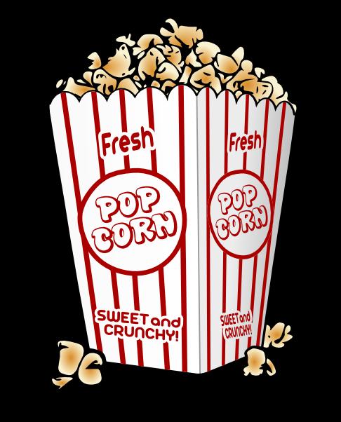 Free popcorn clipart 3