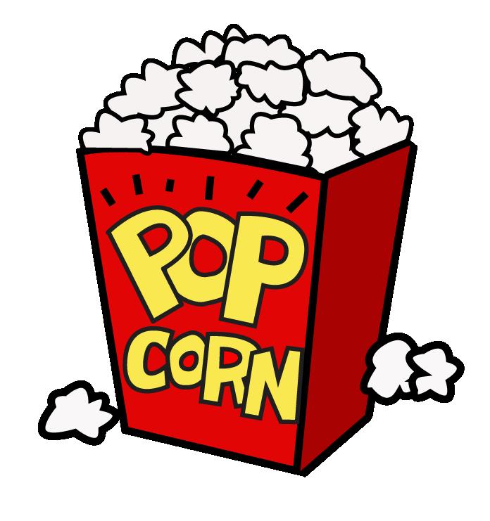 Free popcorn clipart 4