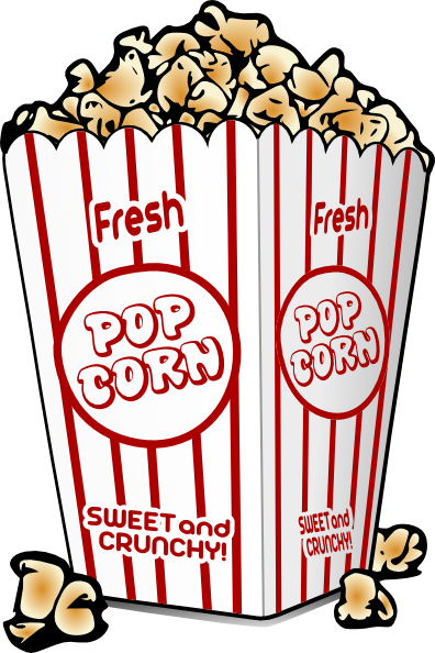 Free popcorn clipart 5