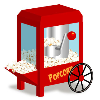 Free popcorn clipart pictures