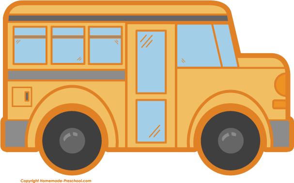 Free school bus clipart 2
