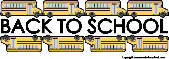 Free school bus clipart 3