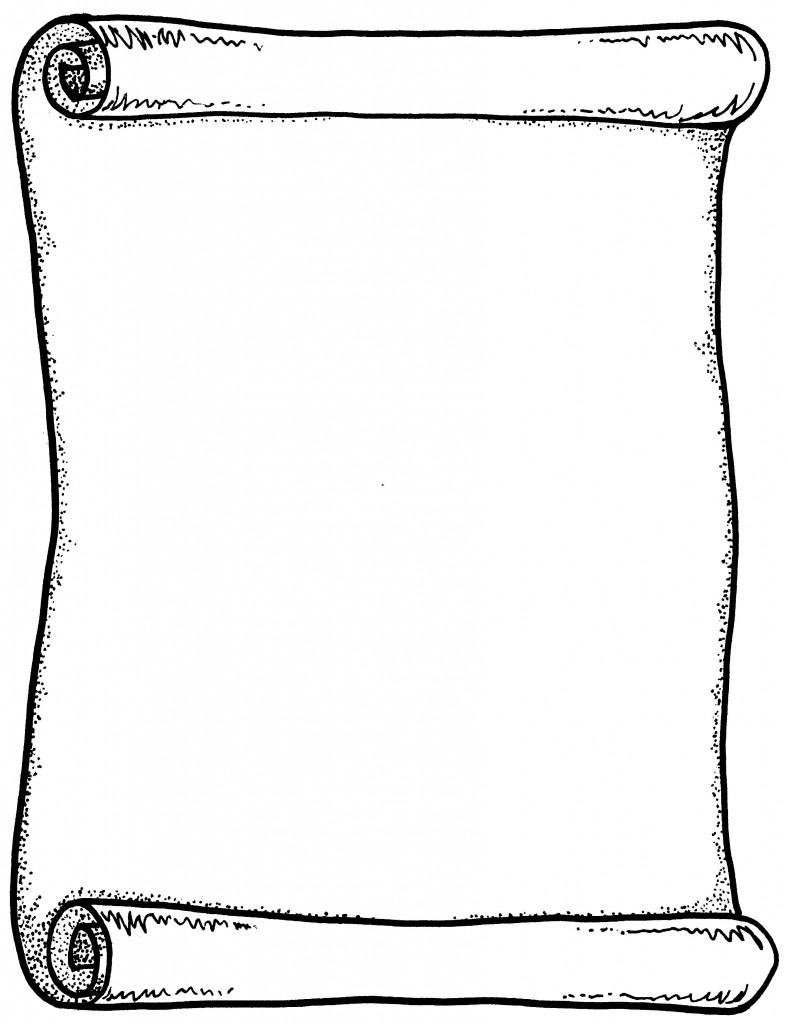 Free scroll clip art