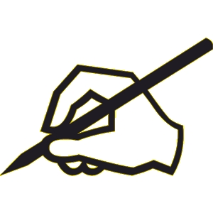 Free writing clip art clipart 2