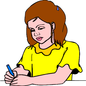 Free writing clip art clipart