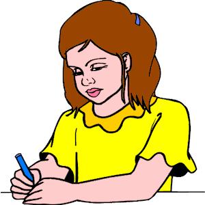 Free writing clip art clipart