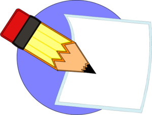 Free writing clipart pictures 7