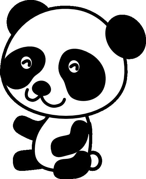 Giant panda clip art free clipart images