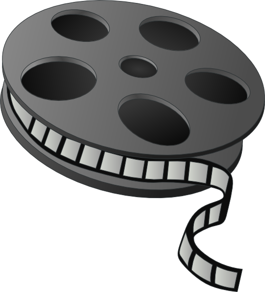 Movie clip art images free clipart 2