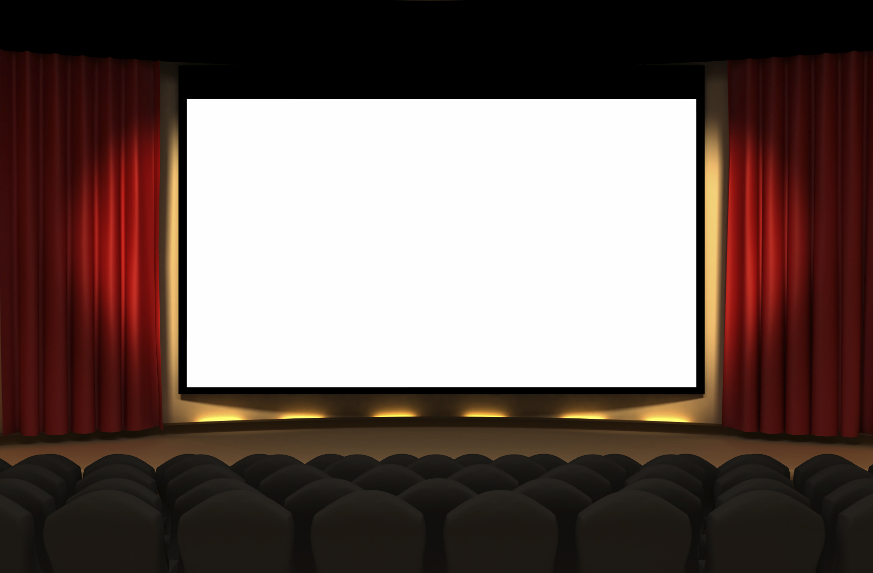 Movie Theater Clipart Border Free Images Gclipartcom