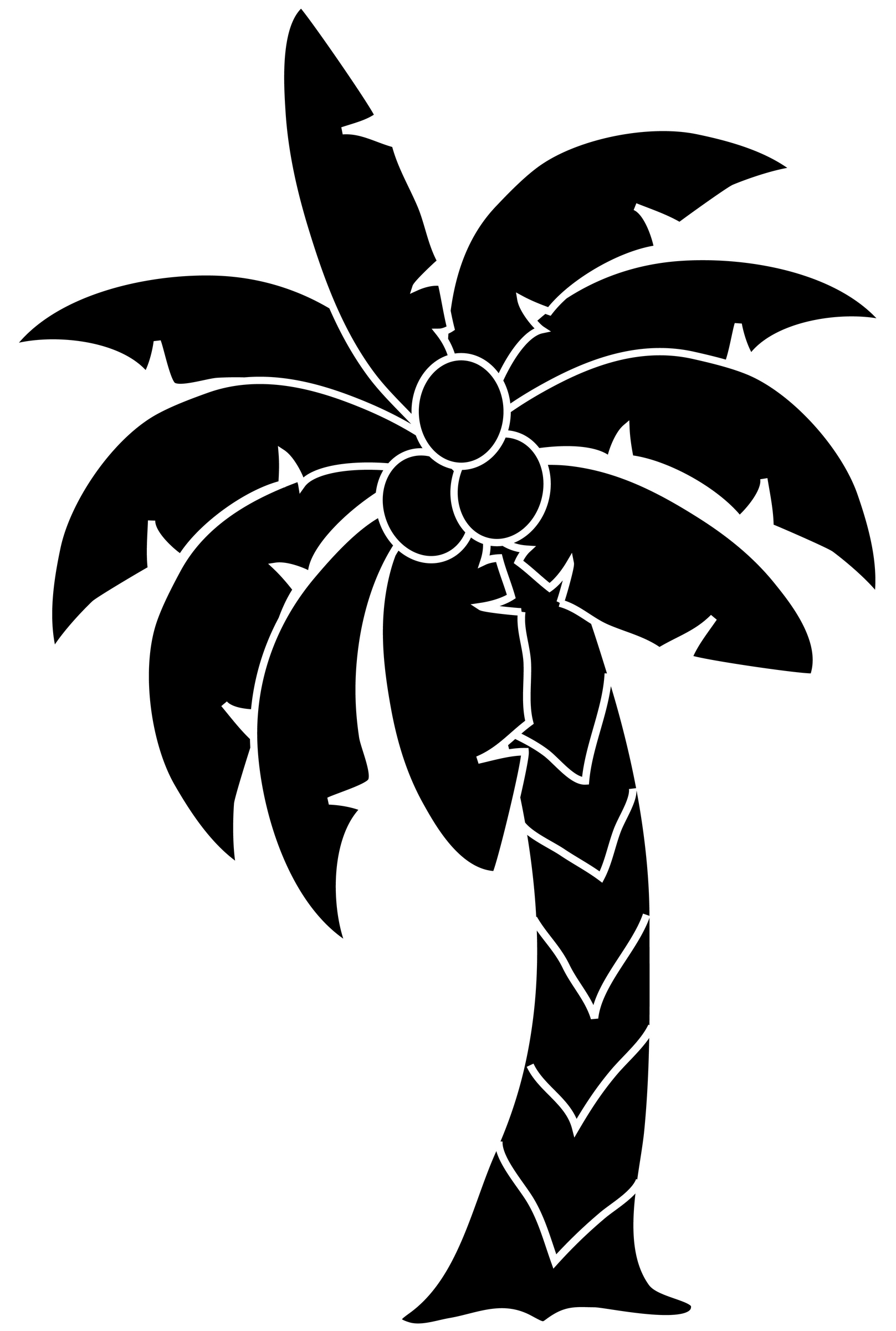 Palm tree art tropical palm trees clip 2 clipart 2