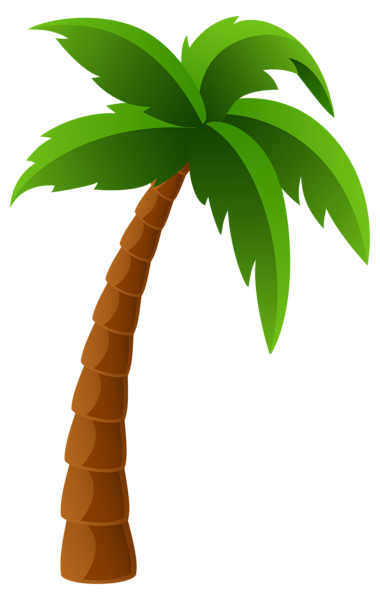 Palm tree art tropical palm trees clip 2 clipart
