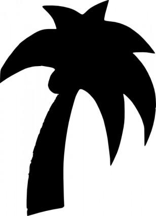 Palm tree art tropical palm trees clip 3 clipart