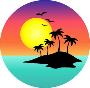 Palm tree art tropical palm trees clip 5 clip art 2
