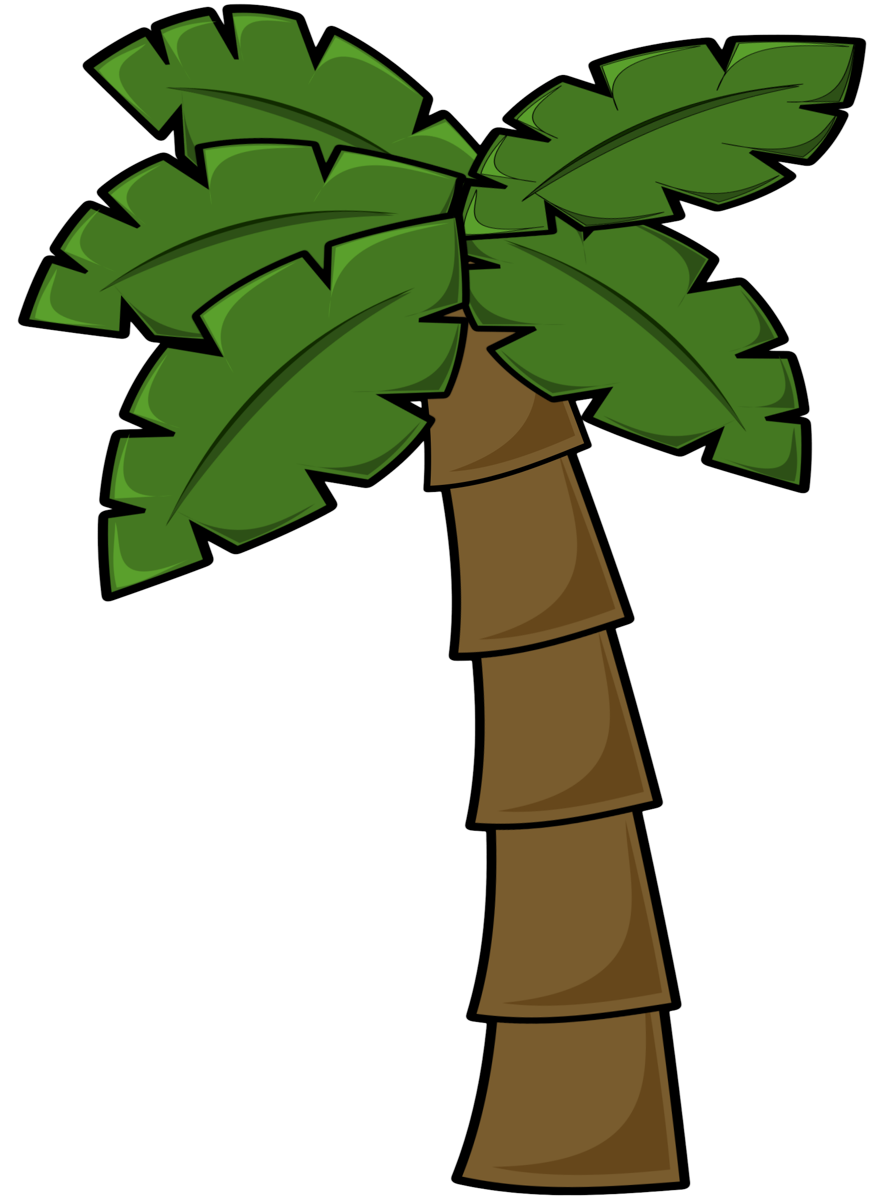 Palm tree art tropical palm trees clip 5 clipart 3