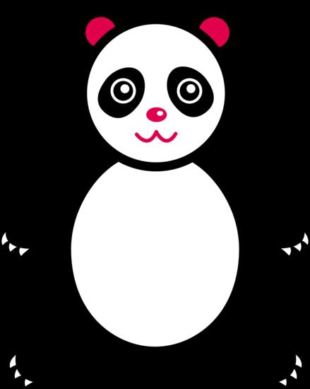Panda clip art 2