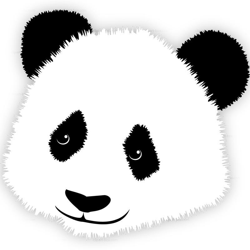 Panda clip art clipartbold