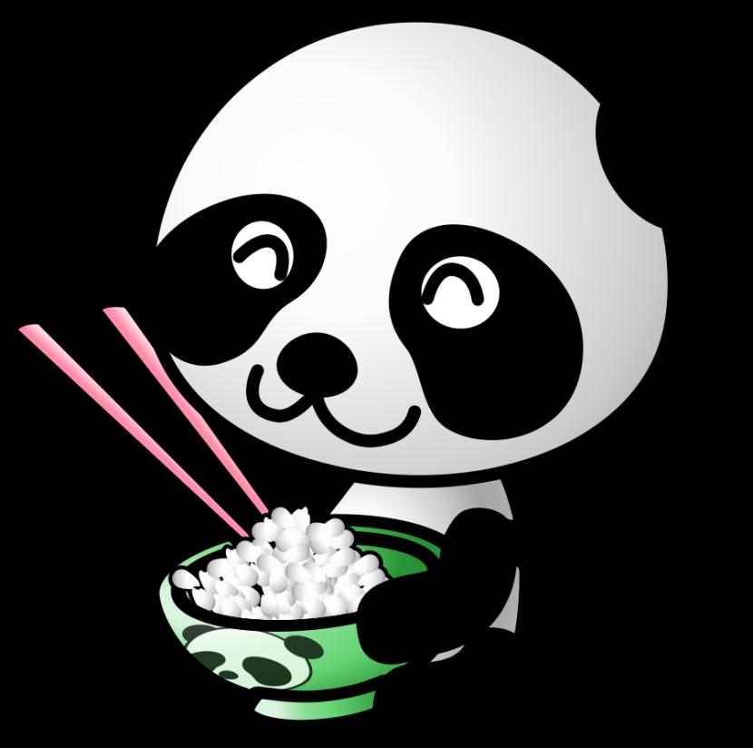 Panda clipart 2