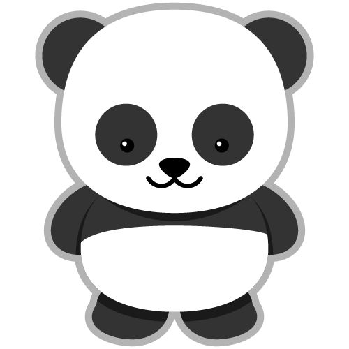 Panda clipart free images