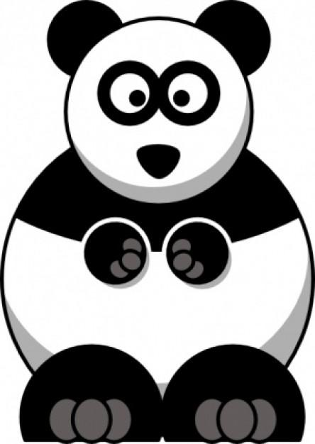 Panda cute clipartfest 2