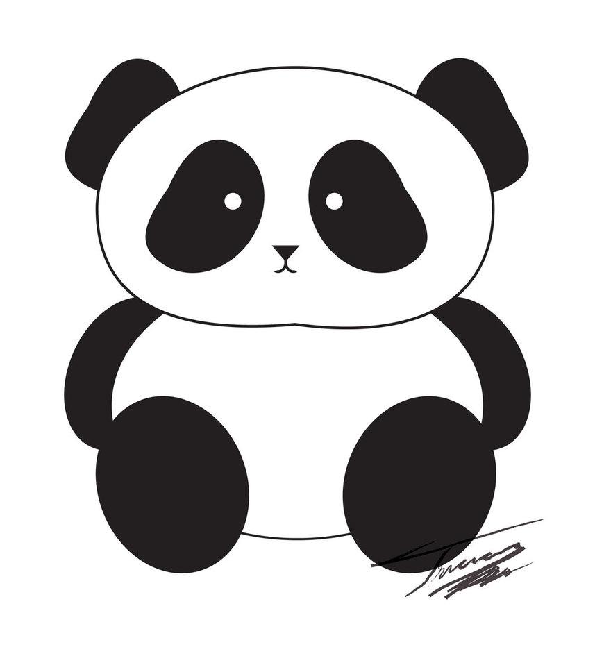 Panda cute clipartfest