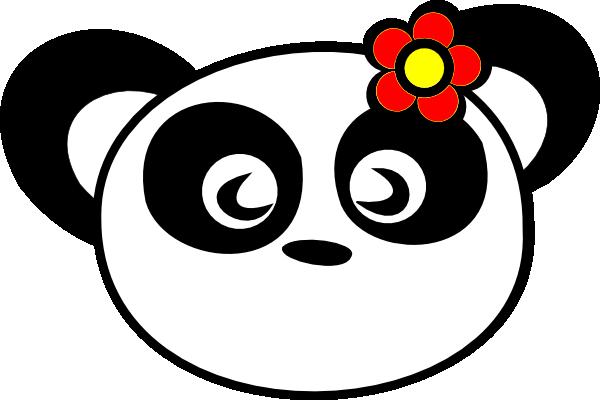 Panda scrapbooking scrapbook panda clip art 2