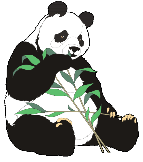 Panda scrapbooking scrapbook panda clipart 2