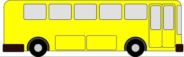 Pictures school bus clip art