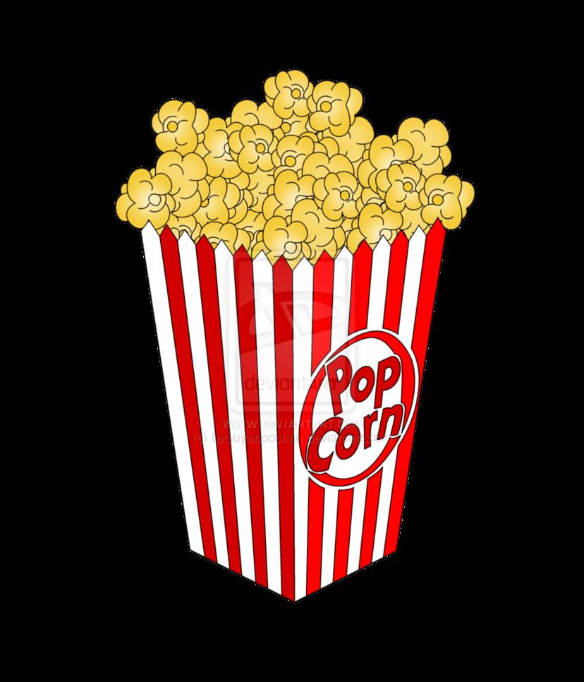Popcorn clipart cliparts