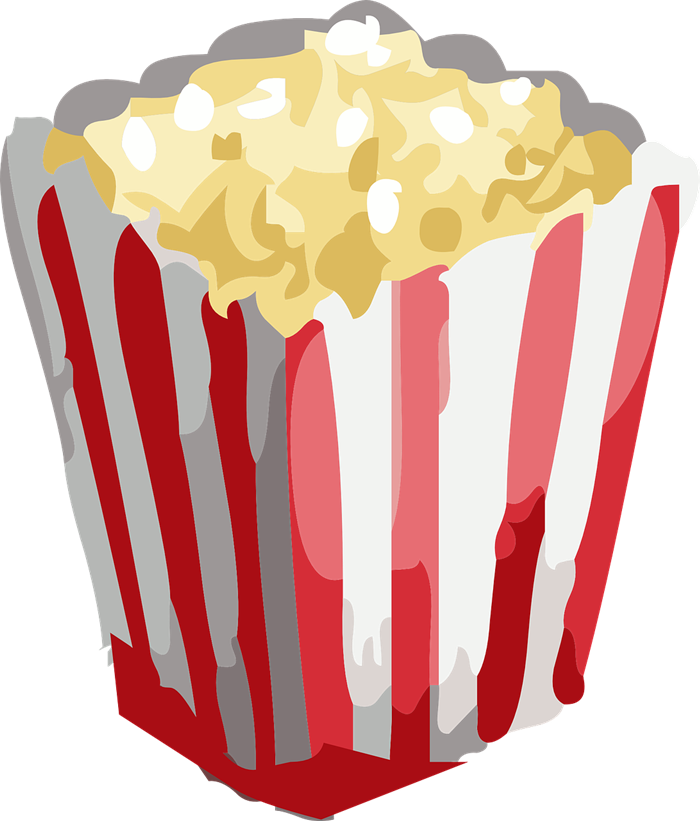 Popcorn free to use clip art