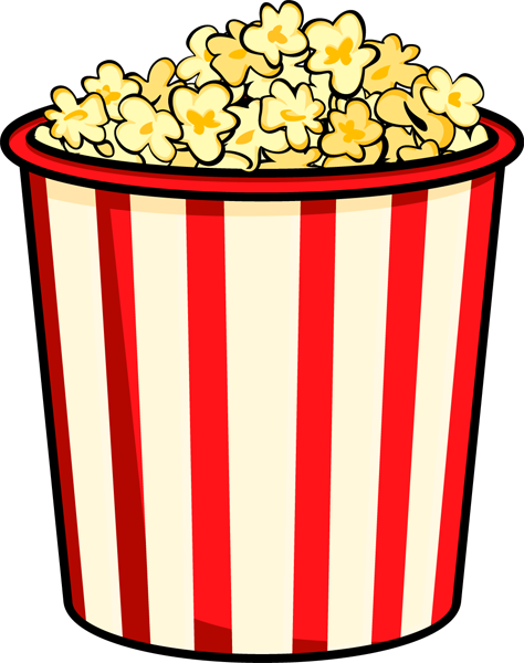 Popcorn kernel clipart free images